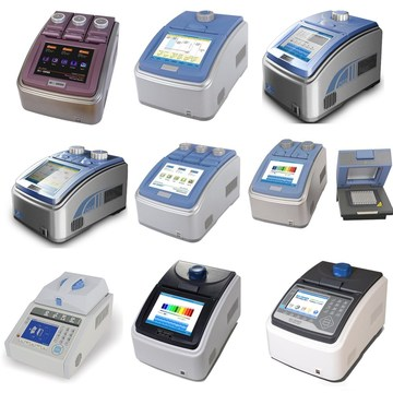 384 wells gradient pcr thermocycler machine
