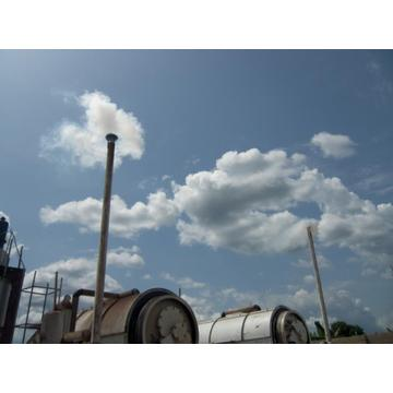 waste tyre pyrolysis to fuel plants
