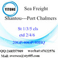 Shantou Port Sea Freight Shipping To Port Chalmers