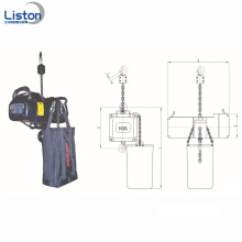 Outdoor Stage Roof Lighting 1Ton Stage Chain Hoist