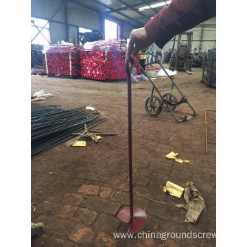 Power Coated Ground Anchors