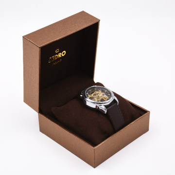 Durable Cheap Paper Packaging Single Watch Box
