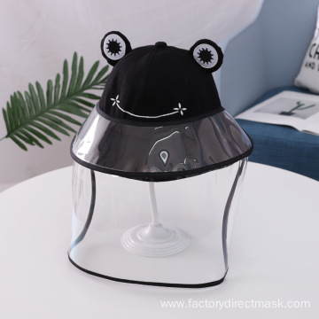 Black Frog Anti-droplet Hat for Children