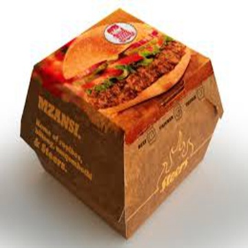 Recyclabe Cardboard Takeaway Food Paper Boxes FSC Listed