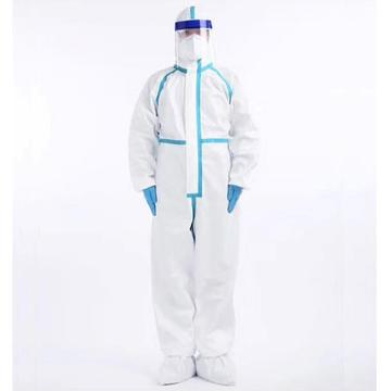 Safety disposable clothing protective suit medical