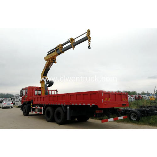 12Tons Knuckle Boom Crane On Dongfeng Truck Chassis