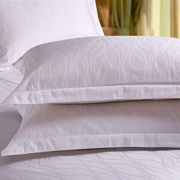 Hotel Cotton Jacquard Pillow Covers