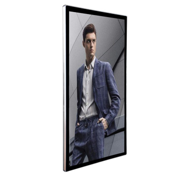 "55"" live streaming touch display screen"