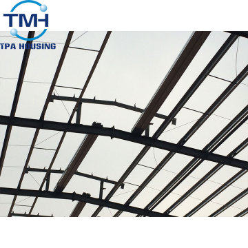 prefabricated steel structure industrial workshop projects