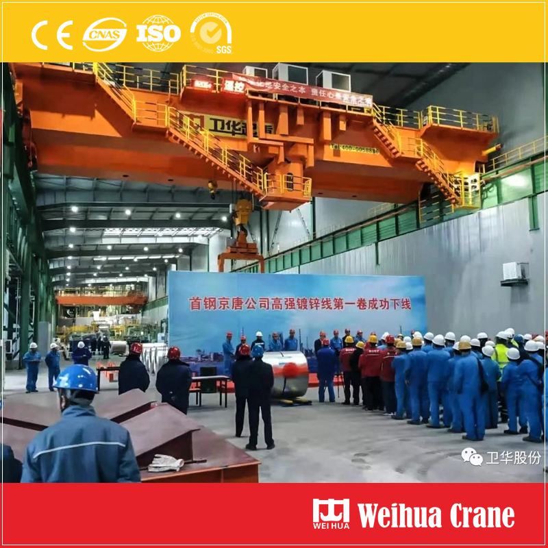 Galvanizing Workshop Overhead Crane