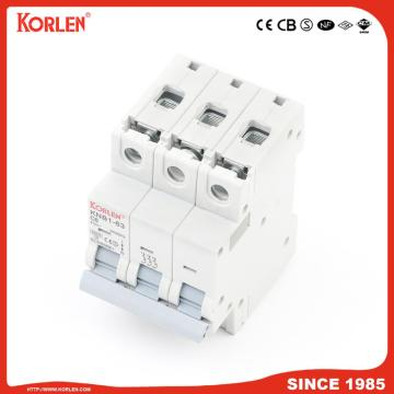 Miniature Circuit Breaker 4.5KA 63A 4P with CB