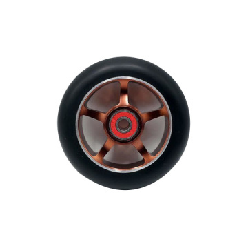 Custom 88A rebound 110mm electric scooter wheels