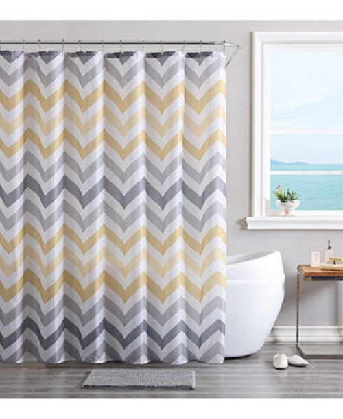 Shower Curtain PEVA Classic Waves