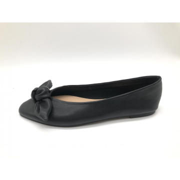 Women's Knotted Front PointedToe Ballet Flats