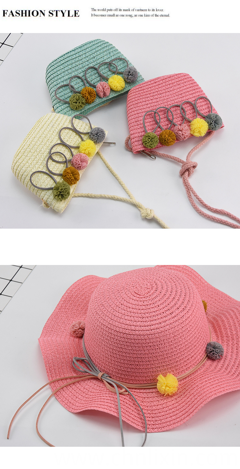 Children Summer Straw Hat Manufacture