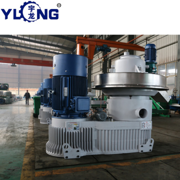 YULONG XGJ850 2.5-3.5T/H ricestraw pellet making machine for sale