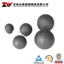 Hot rolling Forged grinding balls for mining 40mm