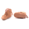 Leather Newborn Soft Sole Plush Baby Winter Boots