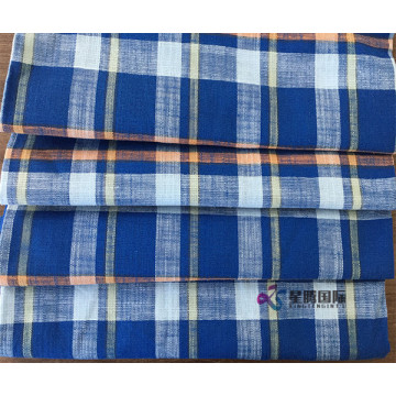 Bamboo Fiber Cotton Blend Checked Fabric
