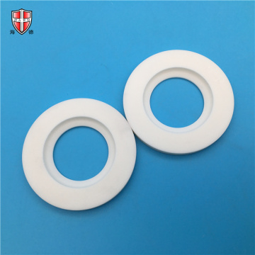 beige 99% alumina ceramic custom washer gasket