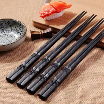 1 Pair Japanese Chopsticks Non-Slip Durable Alloy Hot High Quality Portable Sushi Chop Sticks Set Chinese Chopstick Learner Gift
