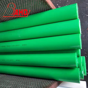 High Density HDPE Rod Green Round PE Rod