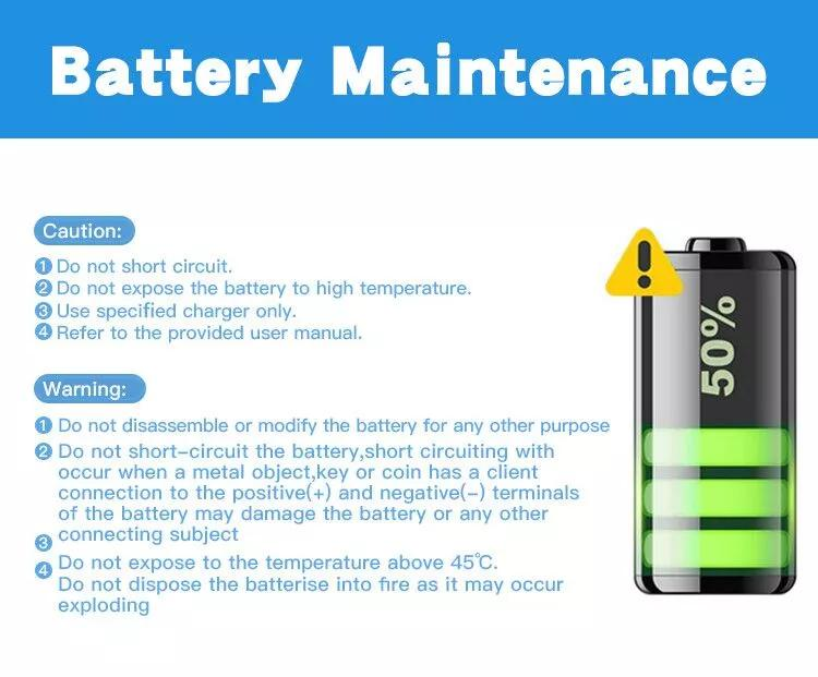 phone battery maintenance