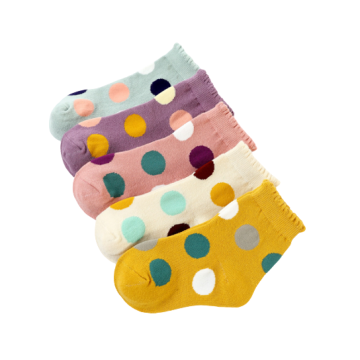 Kids Baby Pretty Design Cotton Low Cut Socks