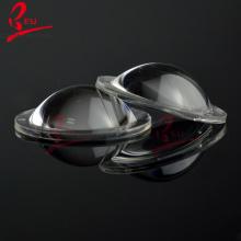 LED Lens 23mm 60 Degree semi-circle Plano-convex Optical Grade PMMA Car Reflector Lenses