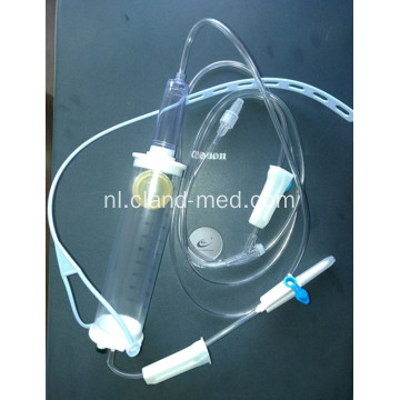 Steriele disposable pediatrische infuusset met infuus Burette