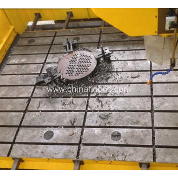 Gantry type plate drilling machine
