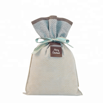 Delicate Christmas Gift Warpping Bags Laminated Non-woven
