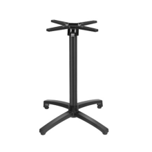 Adjustable Aluminum Table Base with Flip Top Mechanism