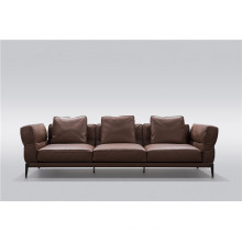 Living room leather sofa