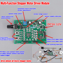 Micro Stepper Motor Control Module Board DC 5V-12V 6V 2-phase 4-wire 4-phase 5-wire Stepping Motor Driver