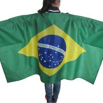 custom printed national cape Body Flag