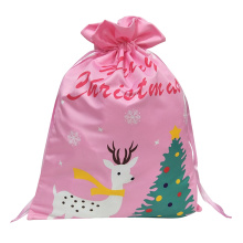 "Christmas sack with"" Merry Christmas""  letter pattern"