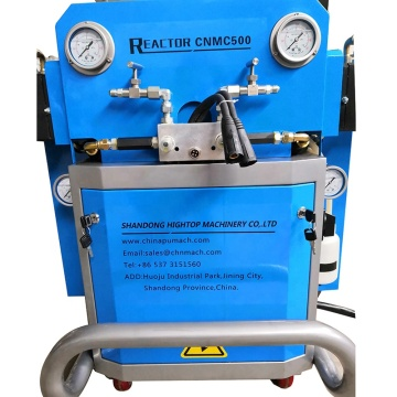 Two component pu foam wheel foam polyether machine