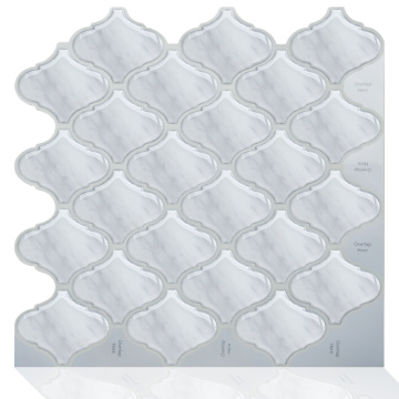 Waterproof Self Adhesive Mosaic 3D Wall Sticker Tile