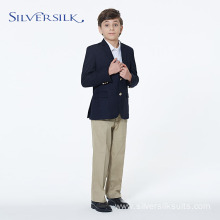 student school jacket uniform brassed button boys blazer