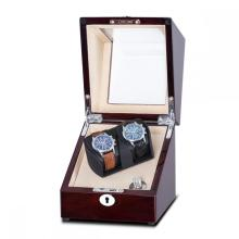High Gloss Finish Watch Winder For 2 Watches