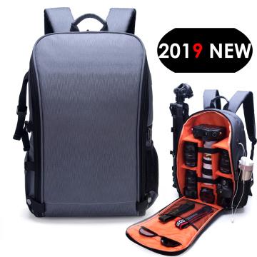 Waterproof Photo Camera Backpack Fashion Style Video DSLR Nylon Bag fit 15.6inch Laptop for Canon Nikon Sony Tripod Lens SLR