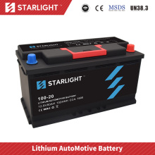 12V 100-20 Lithium Car Battery(Standard type)