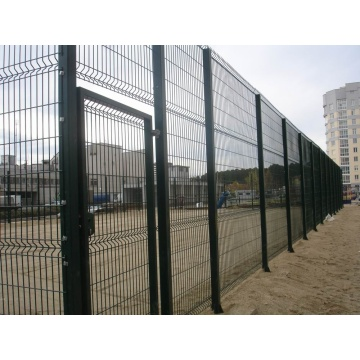 High quality 4mm PVC Welded Wire Mesh Fence
