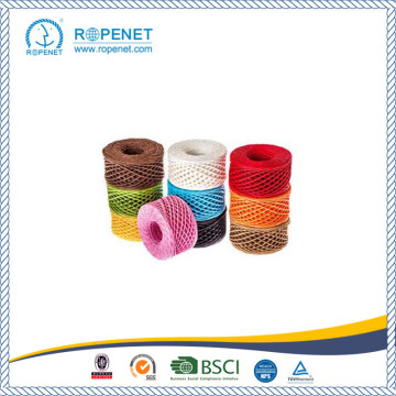 Colorful Twisted Cord Paper Twine with Competitive Price