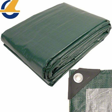 Waterproof Army Green Poly Tarpaulin