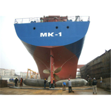 NANHAI NO.1 Rubber Marine Airbags for Ship Launching