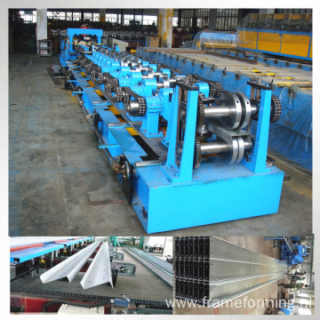steel frame z shape purlin forming machine