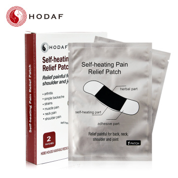 self-heating pain relief patch for body pain relief