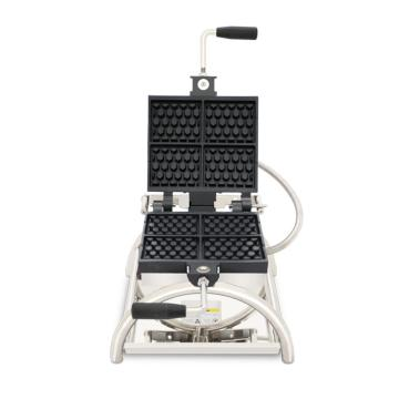Rotary waffle maker with CE snack machines